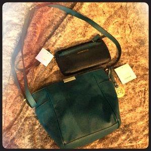 Brand New Liz Claiborne purse & matching wristlet